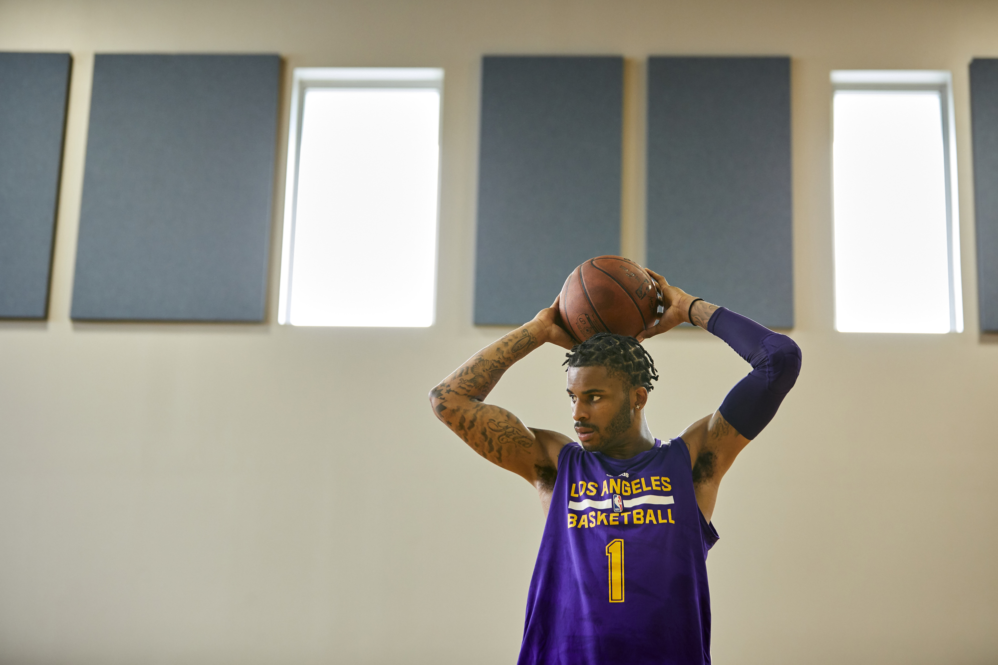 7ded28c2f358 Vander Lee Blue II recently signed a contract with the Los Angeles Lakers  for his second stint on the team.