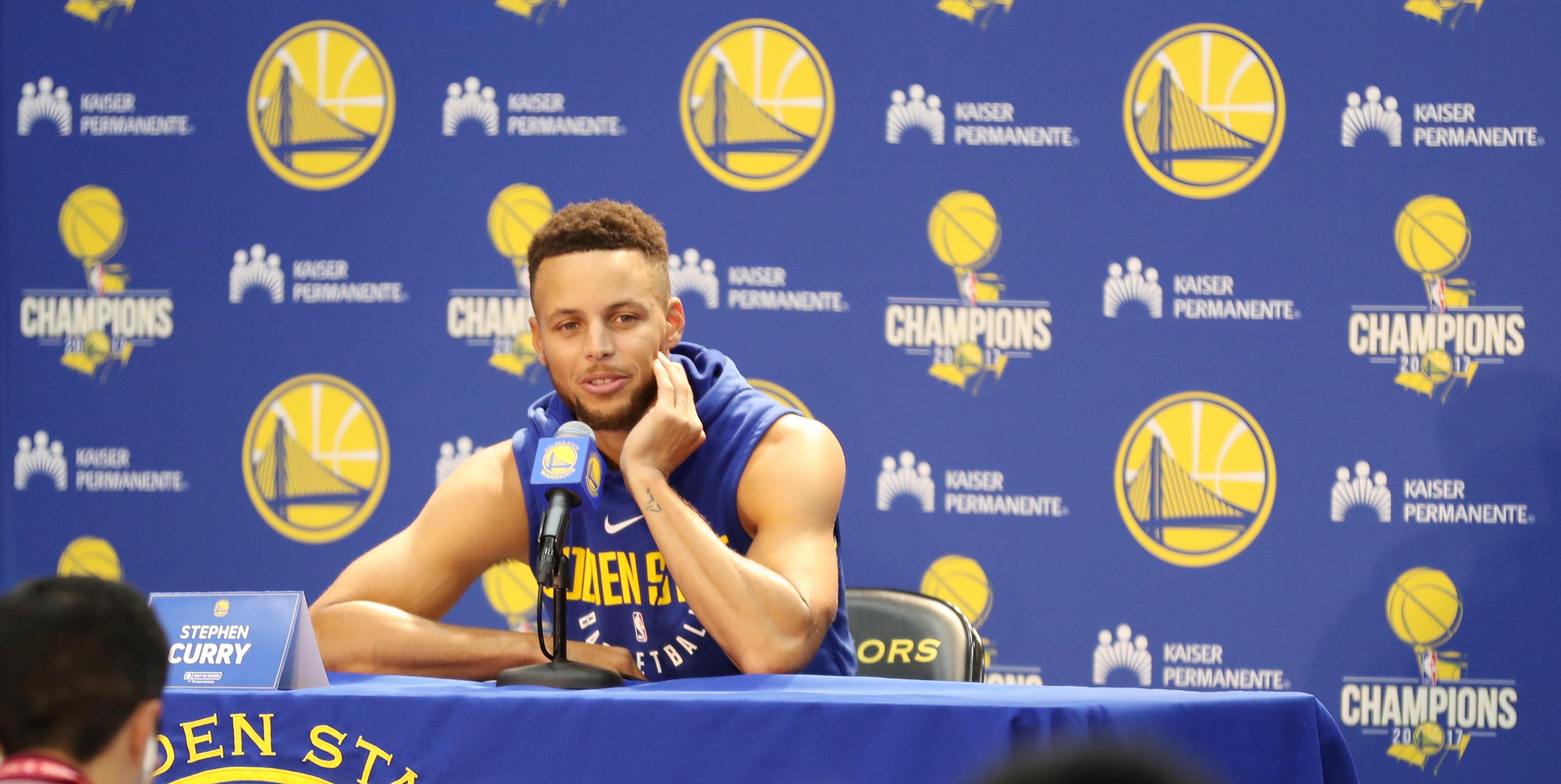Curry statement about White House trip