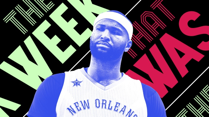 5ae5d331ba72 DeMarcus Cousins said Trump needs to  get his s–t together  and other news  of the week