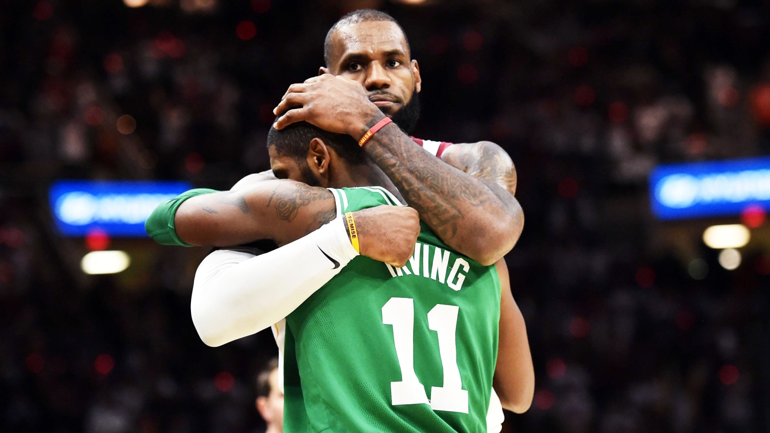 f917f6823 LeBron, Kyrie and the complicated history of black fathers and sons
