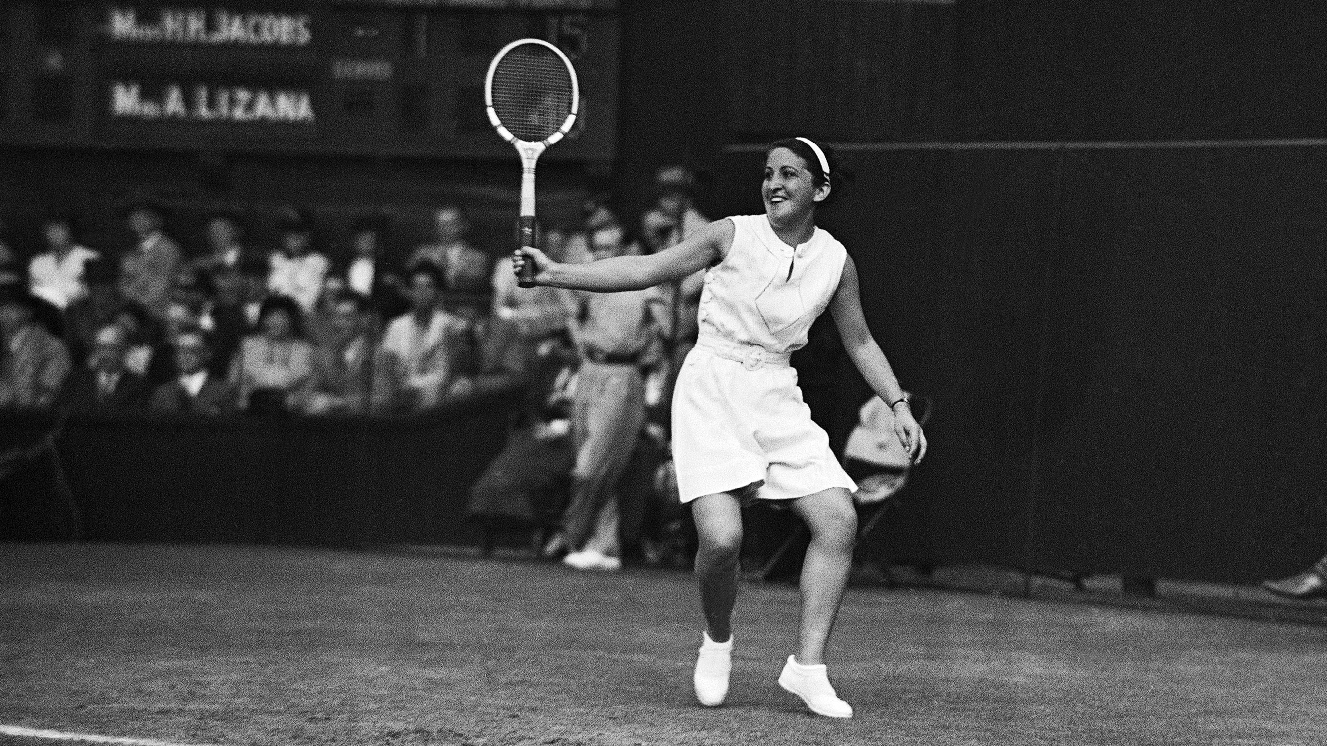 England Tennis Anita Lizana