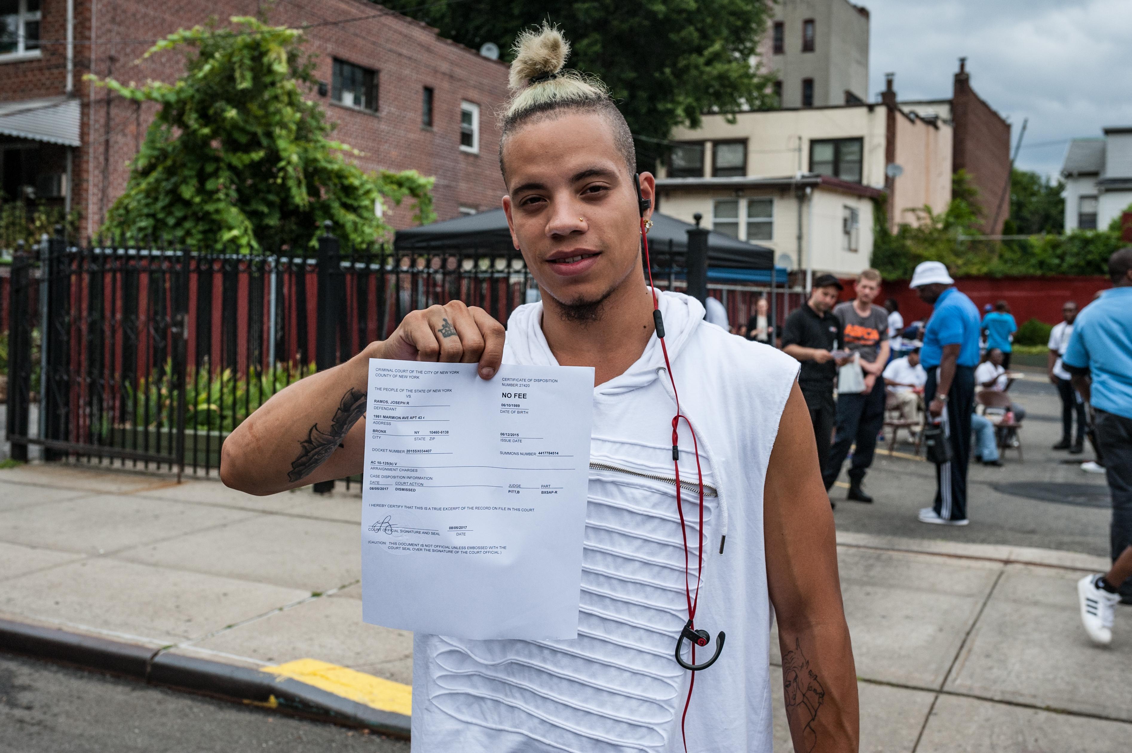 Bronx District Attorney Darcel Clark says criminal justice