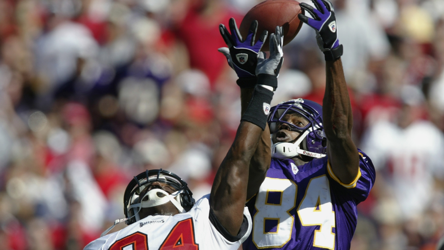 2ec3e621a Randy Moss talks the making of the  Super Freak  — the NFL s first  signature Air Jordan
