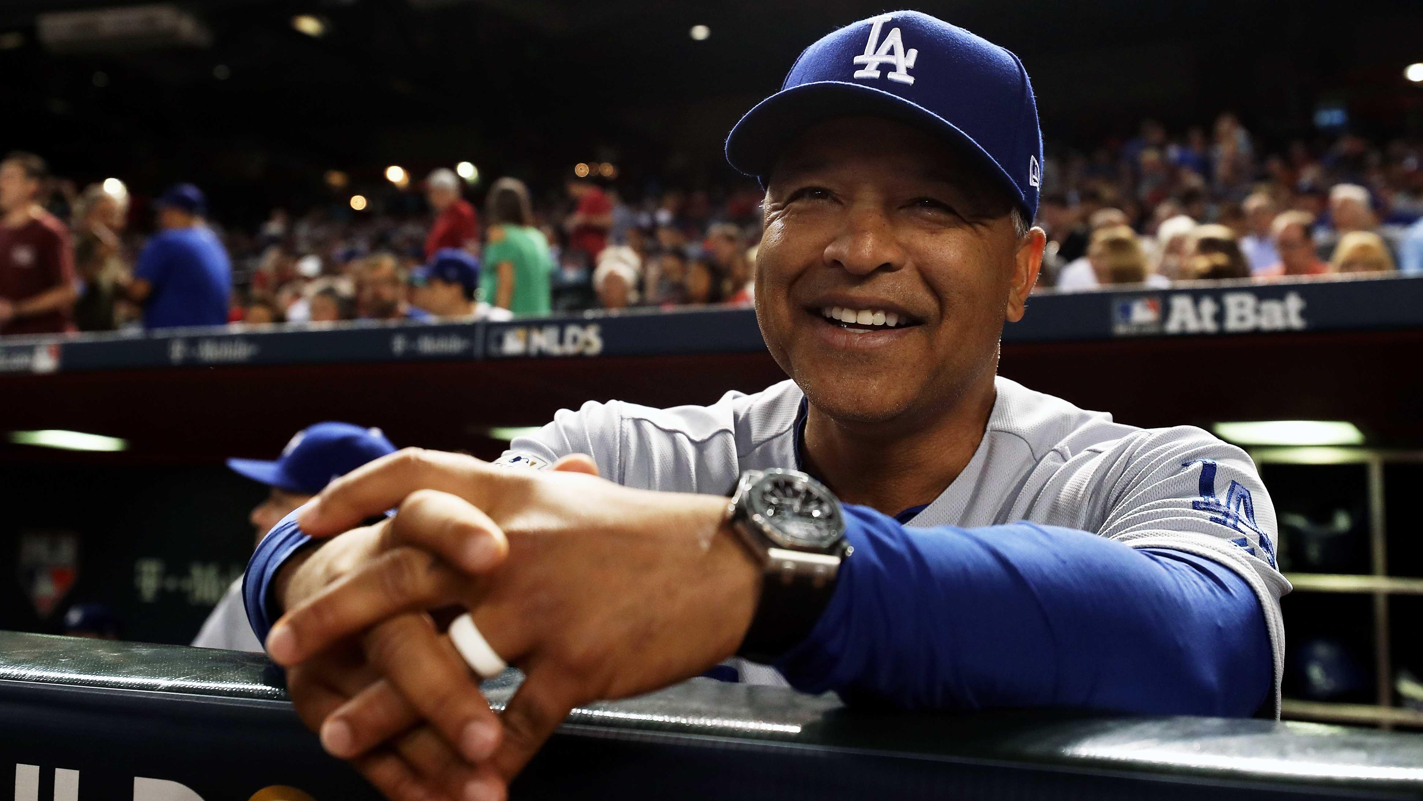 Divisional Series – Los Angeles Dodgers v Arizona Diamondbacks – Game Three
