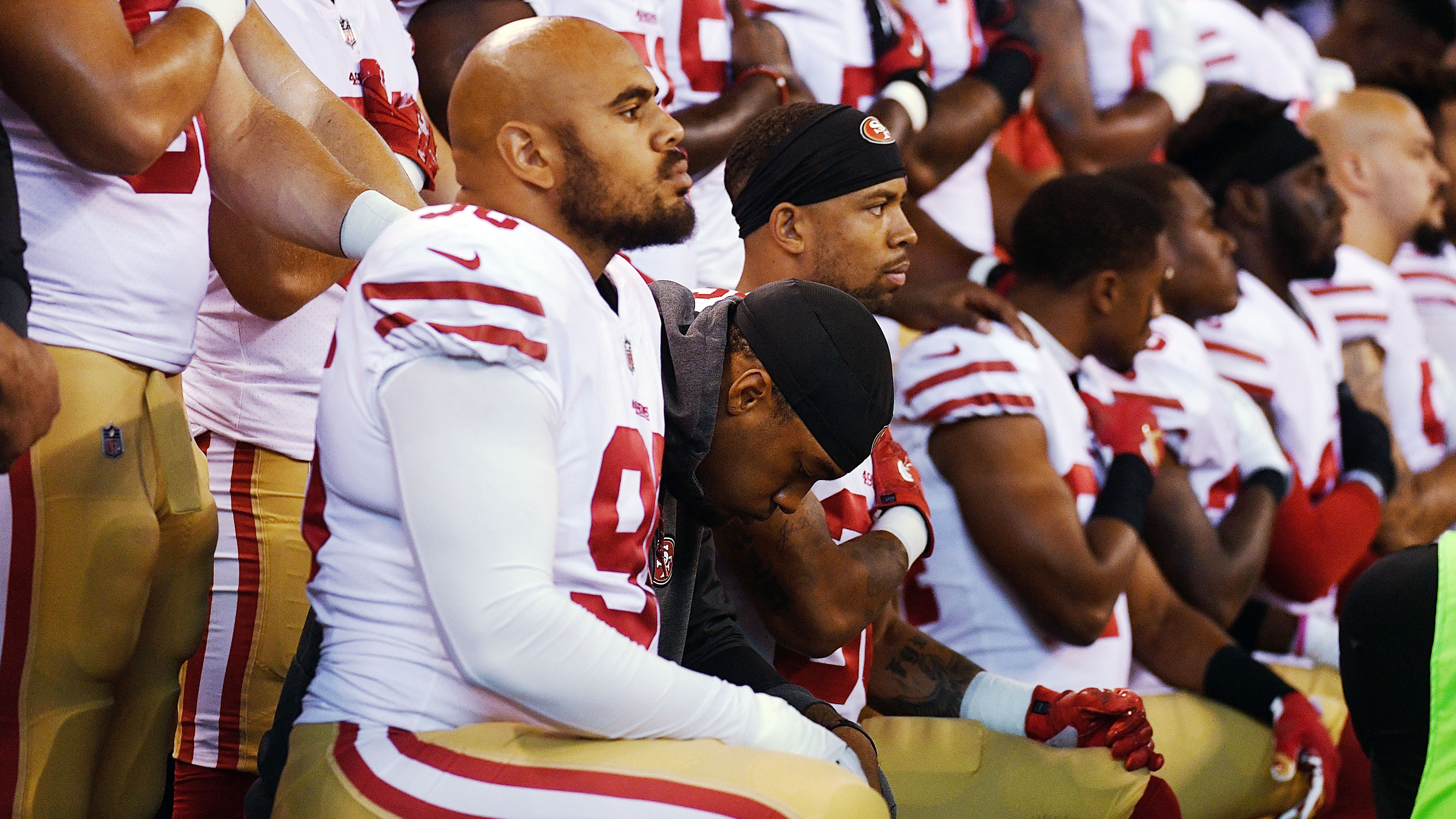 New Is the NFL protest movement stalled because of infighting?