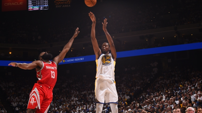 52aa118aa Houston Rockets v Golden State Warriors