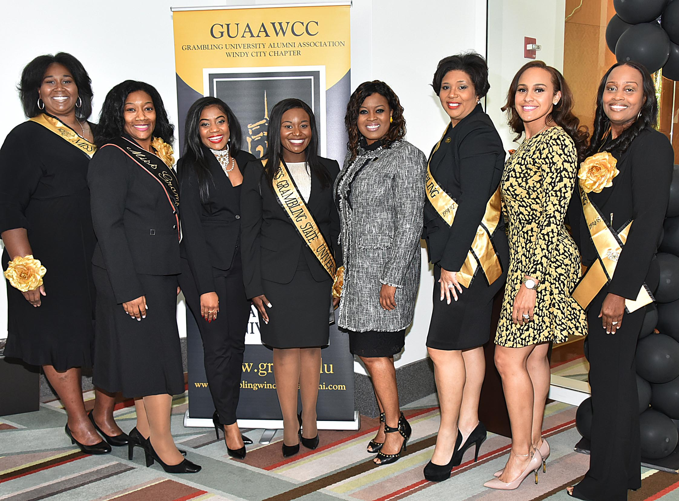 Grambling State queens and Alicia Reece 2017 Chicago Football Classic event