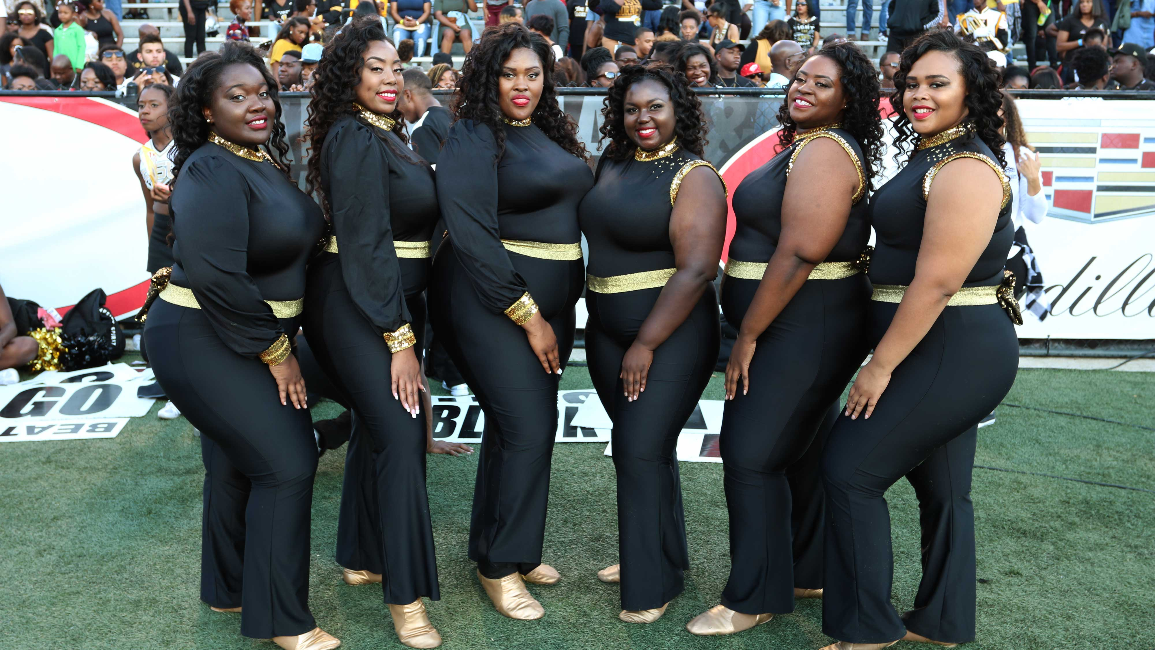 Alabama state honey beez bring positive plus size attitude to hbcu alabama ams honey beez dancing troupe freerunsca Gallery