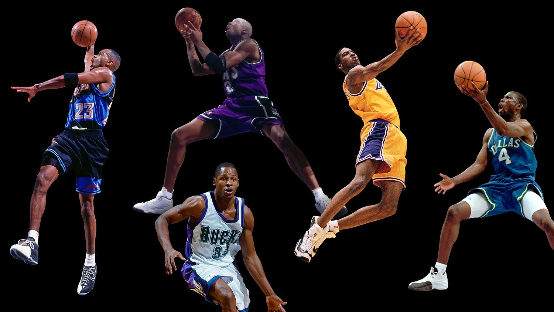 How Michael Jordans Original Starting Five From Ray Allen To
