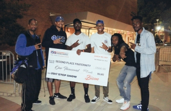 PBS winners at Howard homecoming