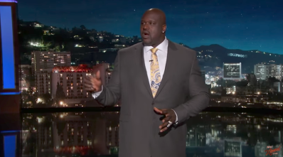Shaq Jimmy Kimmel
