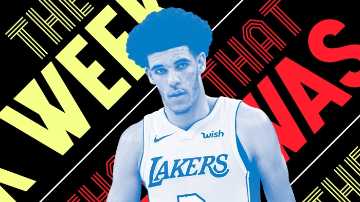 b0470885a Lonzo Ball struggled in first NBA game and other news of the week