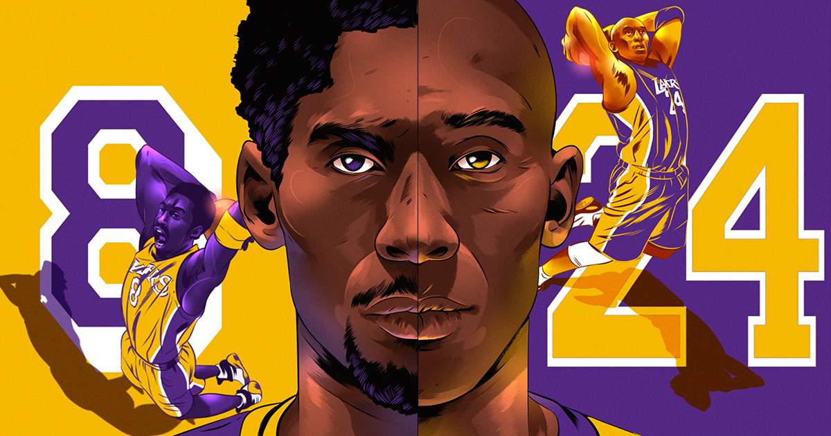 5f22c3bd1 No. 8 and No. 24  Kobe vs. Kobe — The Undefeated
