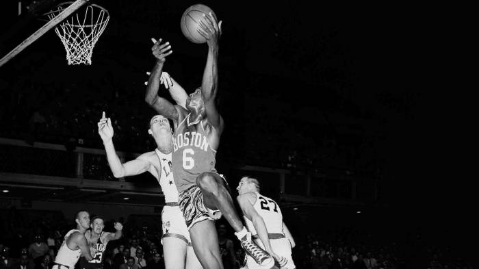Sixty Years Ago Celtics Great Bill Russell Set The NBA Single Game Record For Rebounds With 49