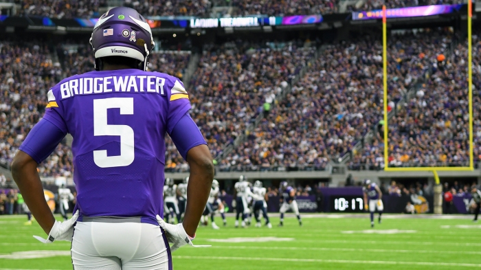 cb913a58 The big question in Minnesota: When will Teddy play?