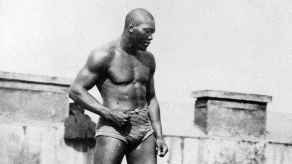 The Thanksgiving an imprisoned Jack Johnson fought two men at ...