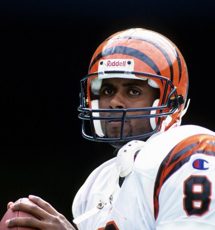 99ffb19357a George Gojkovich Getty Images. Quarterback  Jeff Blake. First start  ...
