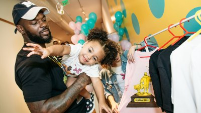Martellus Bennett/ Hey AJ Imagination Lounge Pop Up