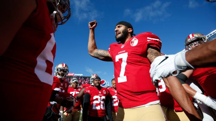Colin kaepernick will have a seat at the table if players meet with colin kaepernick will have a seat at the table if players meet with league m4hsunfo