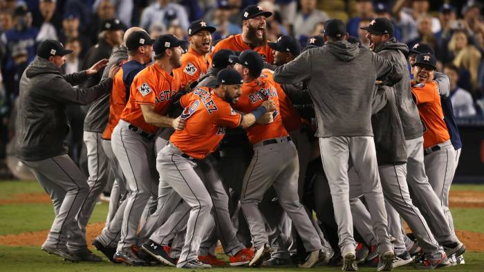 World Series – Houston Astros v Los Angeles Dodgers – Game Seven