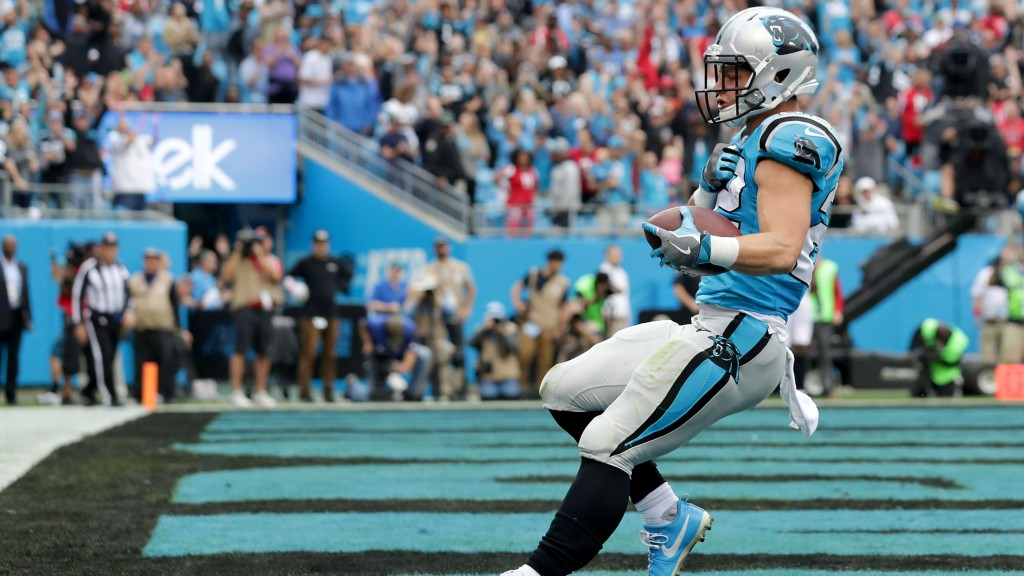 1660f123 Yes, the Panthers' Christian McCaffrey is a white running back — and ...
