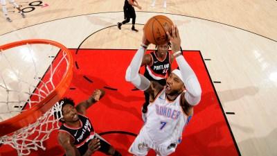 Oklahoma City Thunder v Portland Trail Blazers