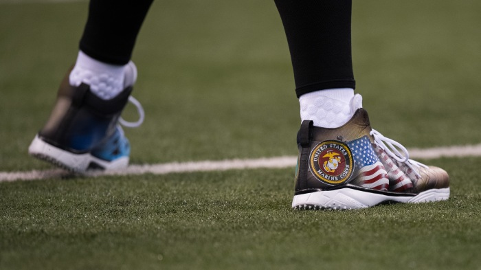 Protesters stand down as NFL unites for Veterans Day d6a90c493