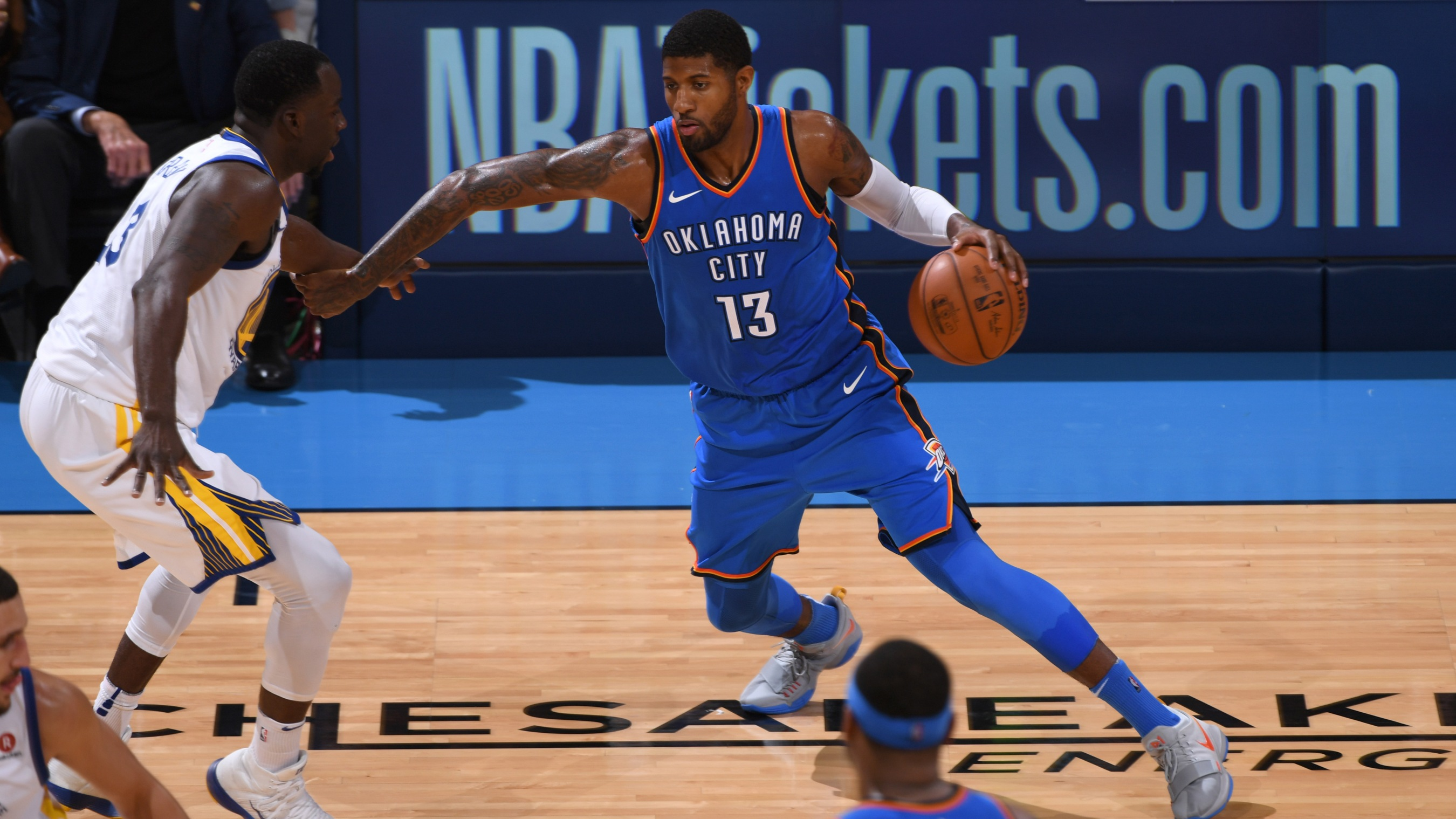 6a525fdb451 Paul George is confident Thunder will  get it right