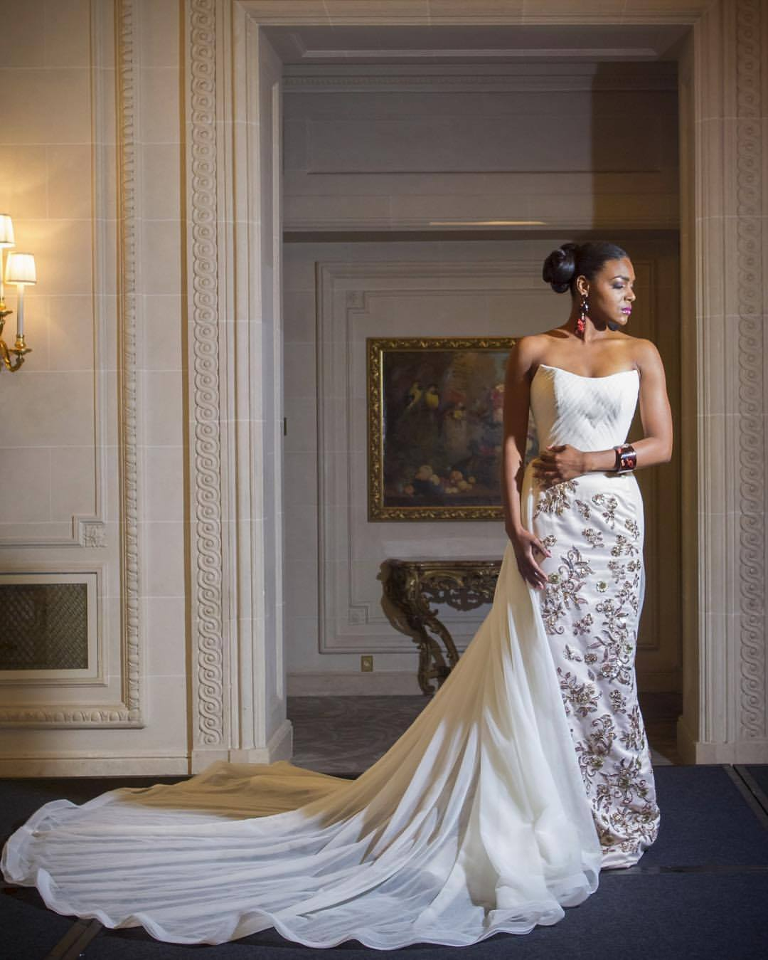 Serena Williams' Wedding Dress
