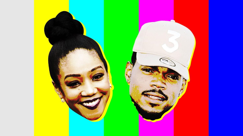 646c128c0 Tiffany Haddish and Chance the Rapper make  Saturday Night Live  history