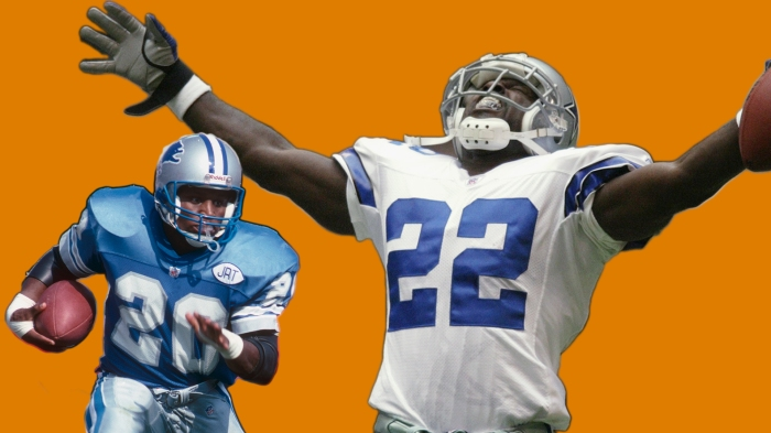 When Barry Sanders and Emmitt Smith feasted on Thanksgiving 51d9f9e25