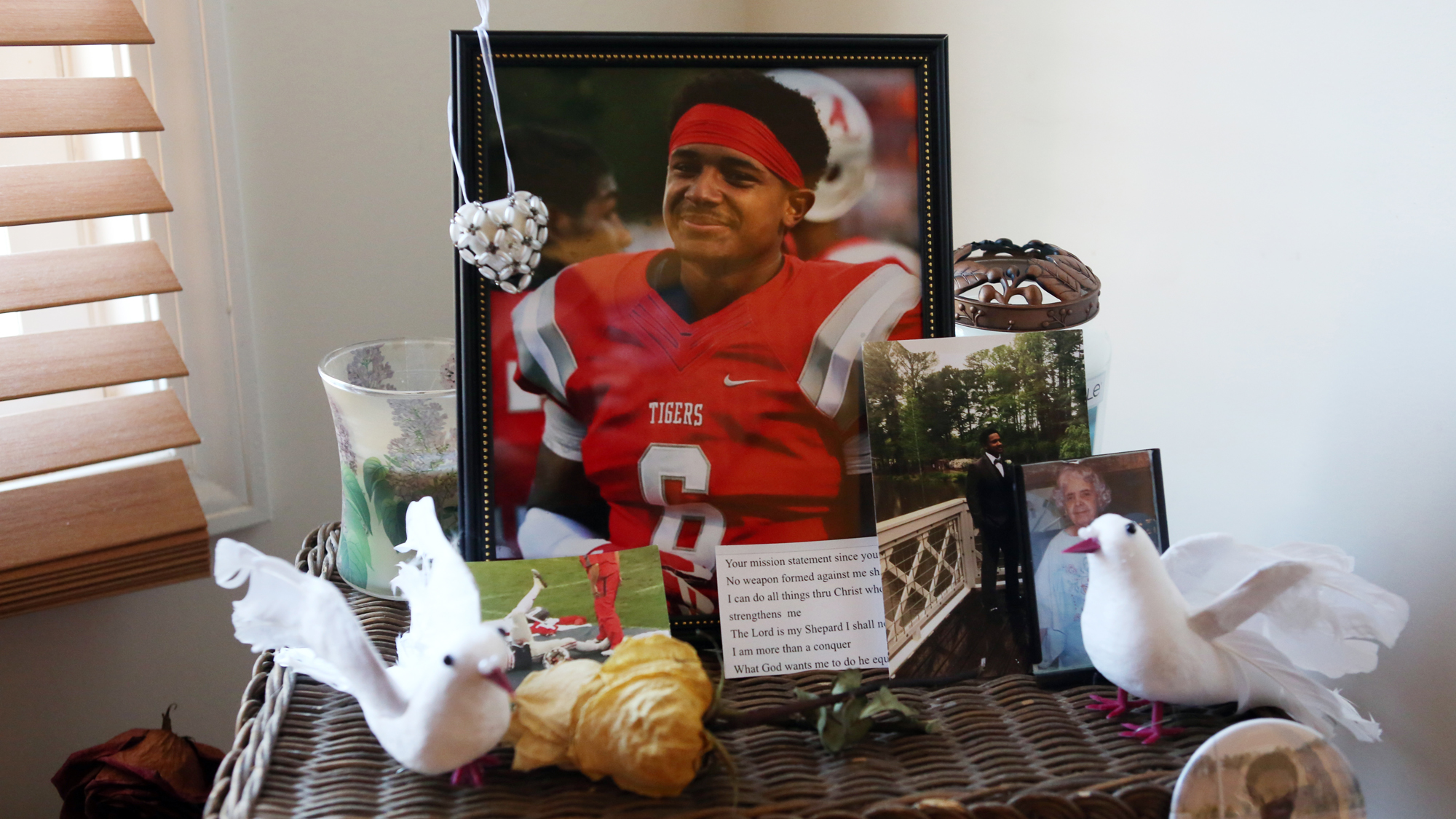 818109325ab2 Nick Blakely came so close to playing Division I football — then tragedy  struck