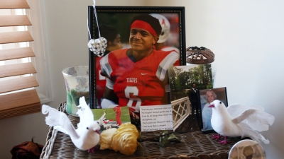 Nick Blakely's family honors his memory by creating a foundation in his name to bring awareness to Sudden Cardiac Arrest.