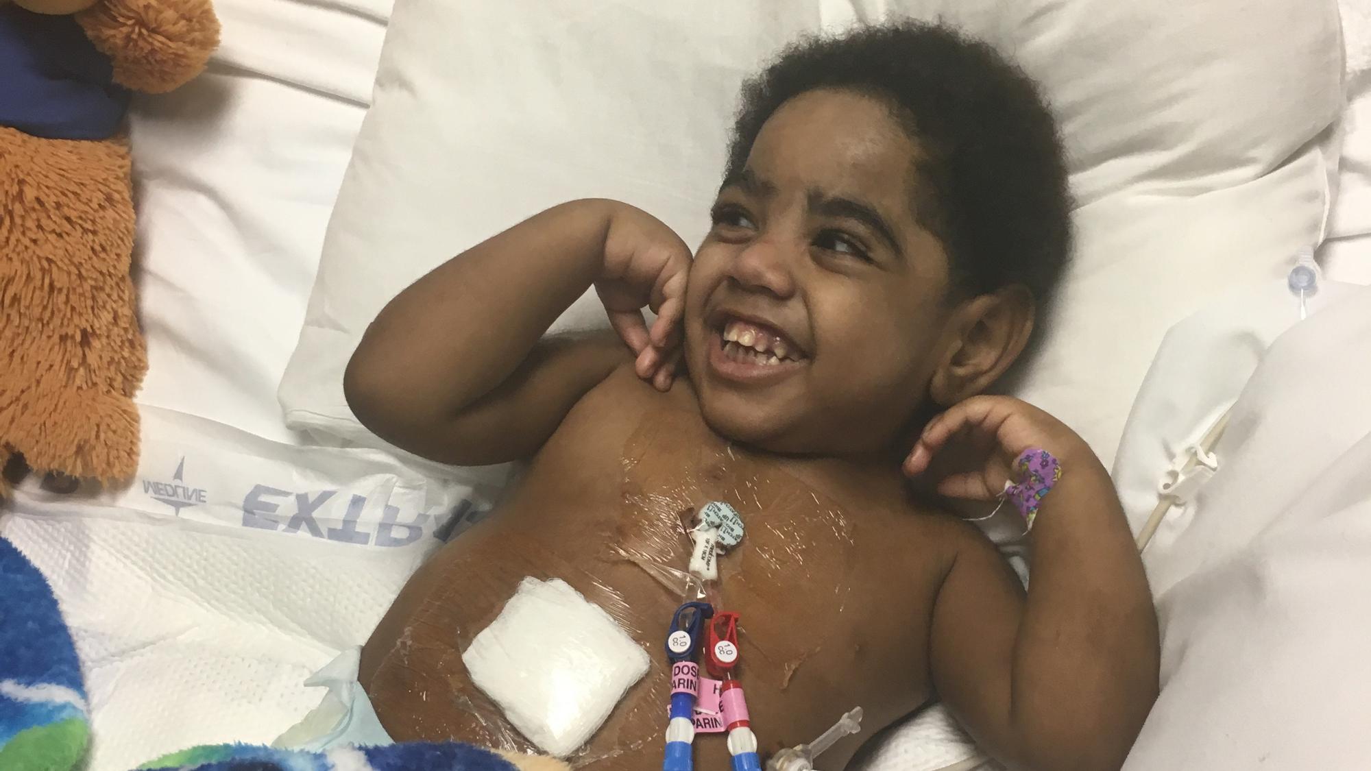 Baby AJ Hospital Bed