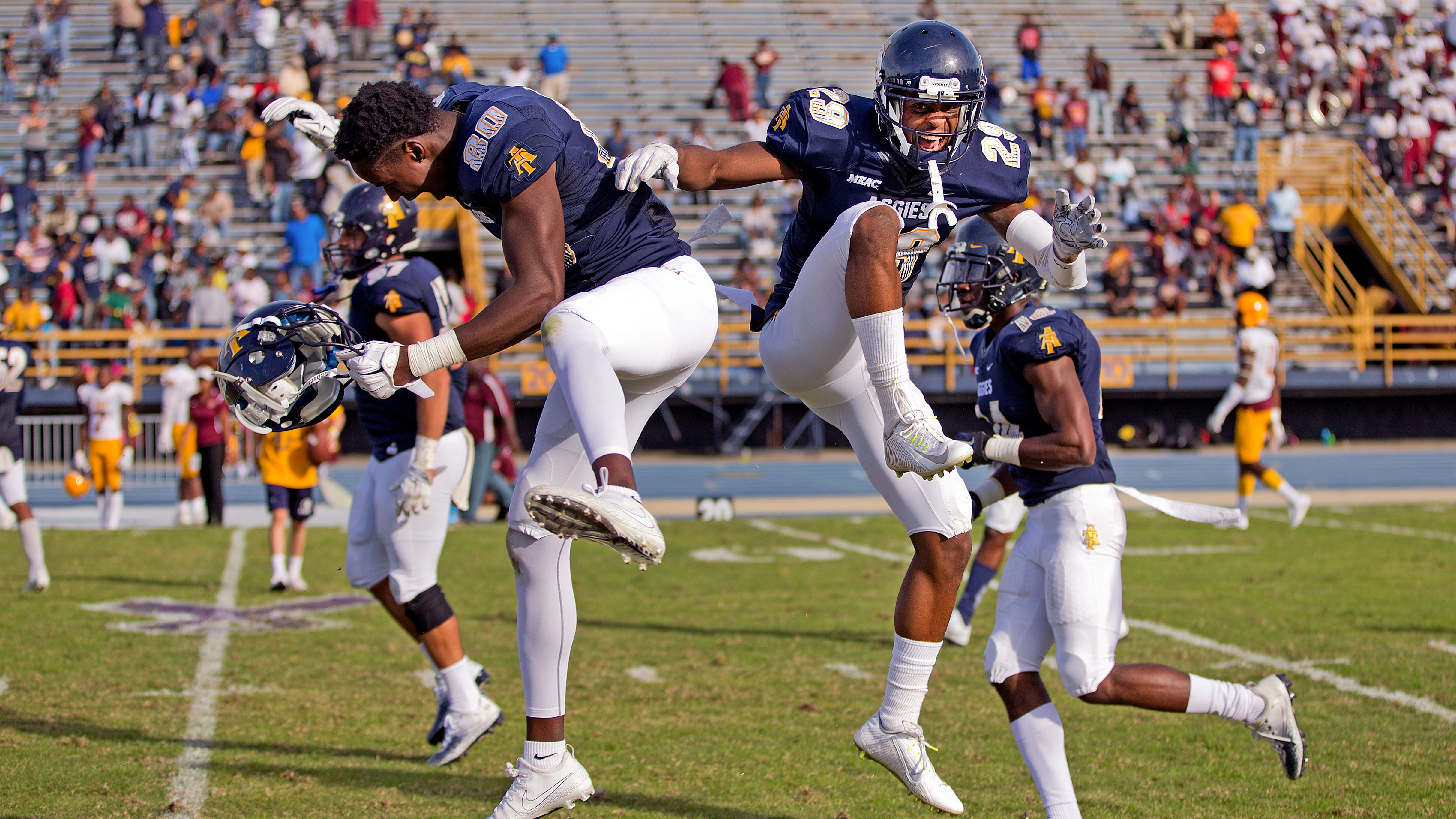 N.C. A&T 24, Bethune-Cookman 20