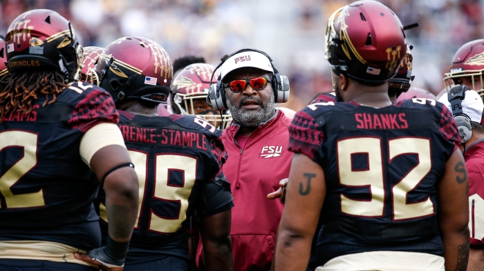 72793f91531 Four things you should know about Florida State interim coach Odell Haggins