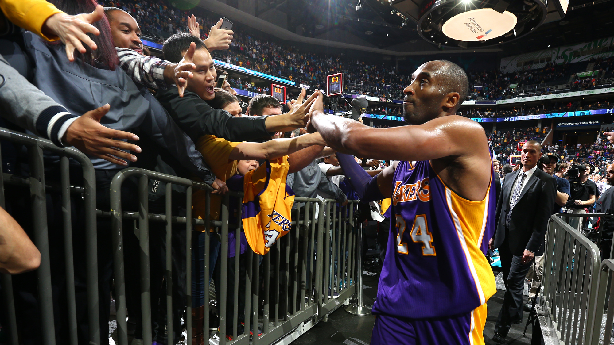 innovative design 7db2c 95d59 Kobe Bryant had a soft touch for his fans and a steady eye on life after  the Lakers