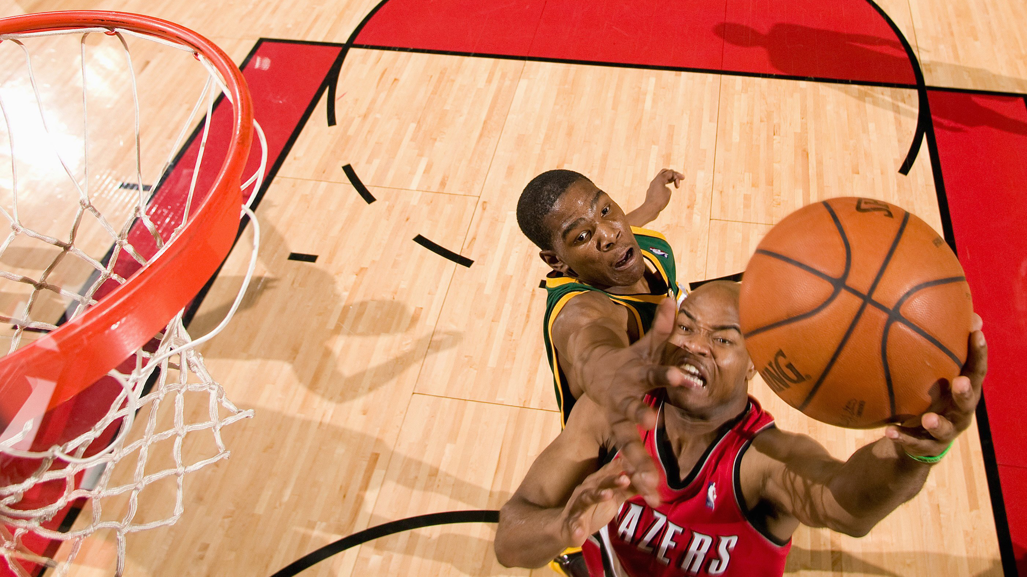 Seattle SuperSonics v Portland Trail Blazers
