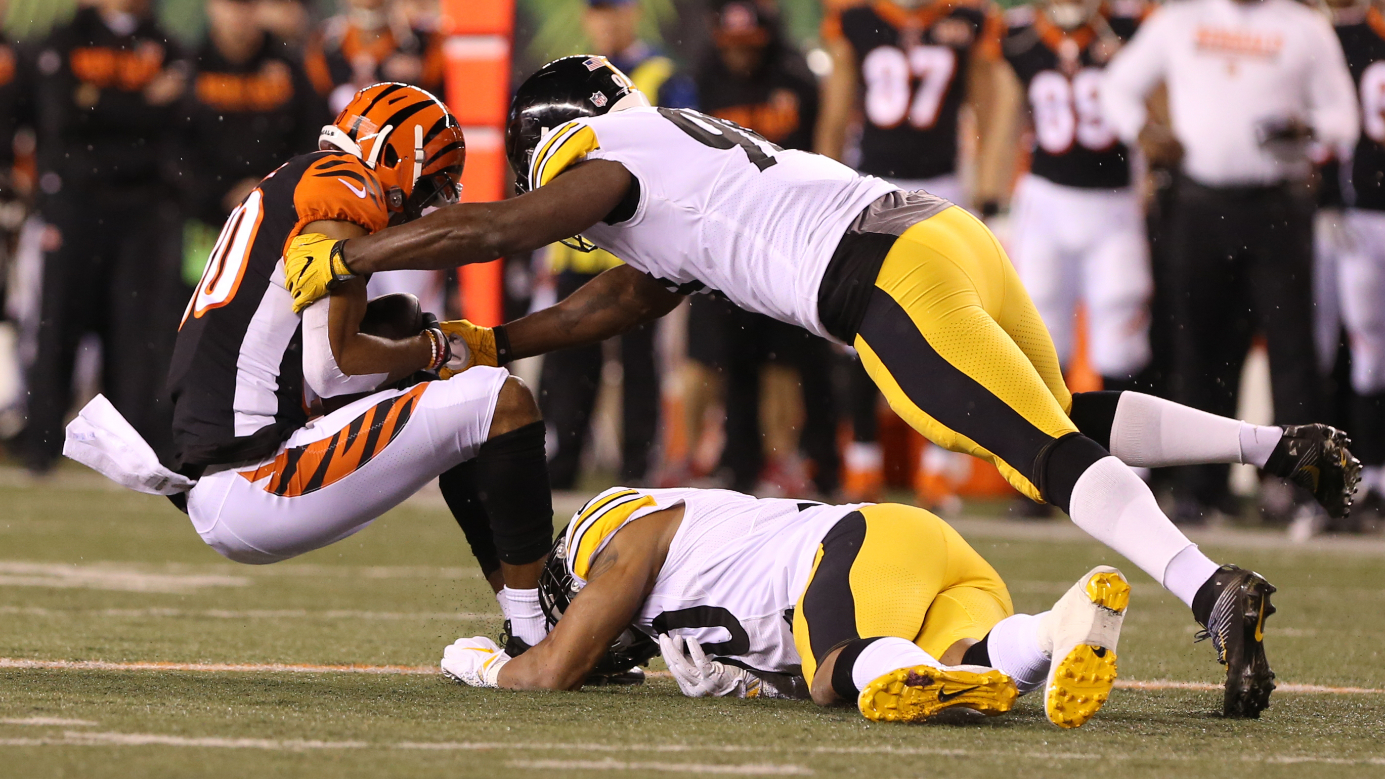 Ryan Shazier, Vontaze Burfict and the alluring violence of