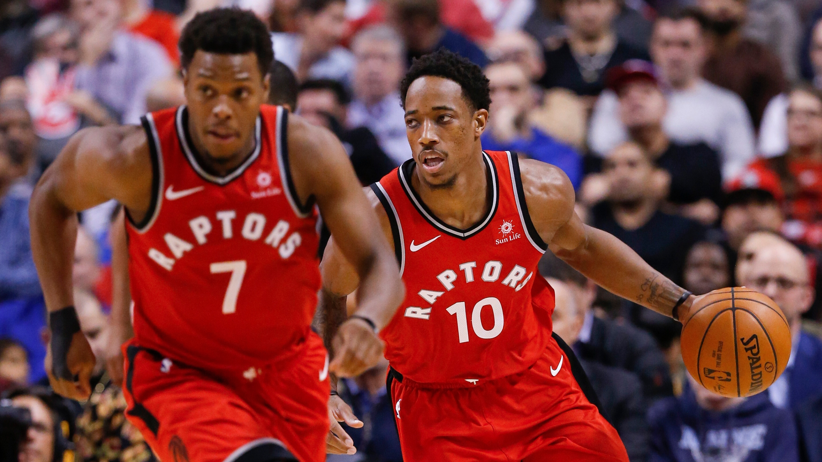 fe89b986f785 DeMar DeRozan and Kyle Lowry  All they want for Christmas is to play in a  game