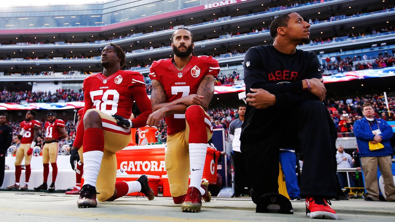 Colin kaepernicks rise from quarterback to social activist a seattle seahawks v san francisco 49ers m4hsunfo
