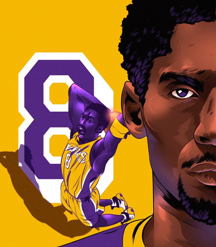 quality design 572bf 51149 No. 8 and No. 24: Kobe vs. Kobe — The Undefeated