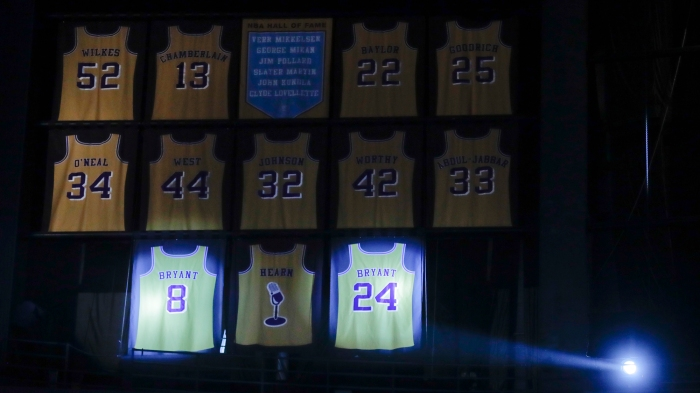 Kobe's night: Let's paint by numbers