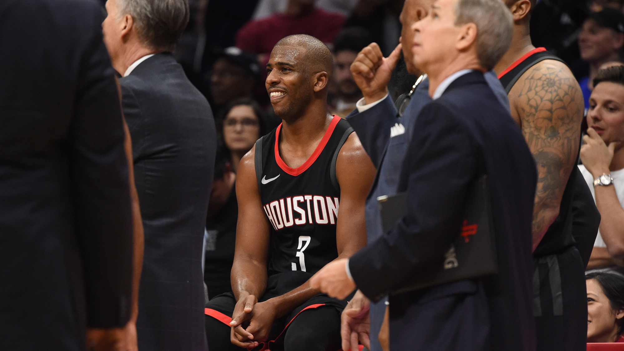 NBA: JAN 15 Rockets at Clippers