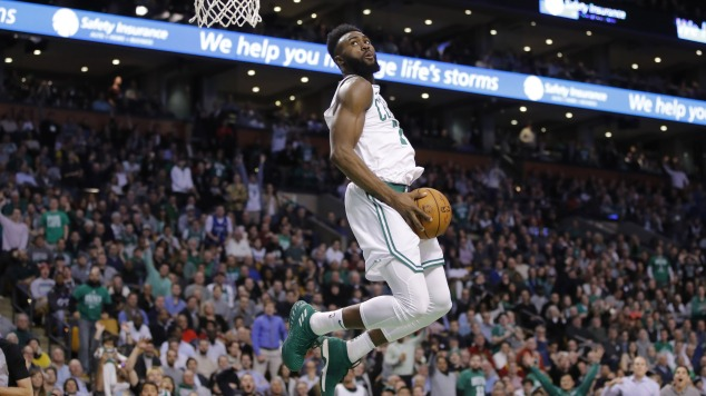 38883a67da49 Jaylen Brown on not sticking to sports