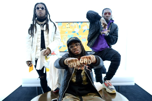 Migos Collection Launch at MUSIC IS UNIVERSAL, Bloomingdale's Exclusive Partnership with Universal Music Group & Bravado