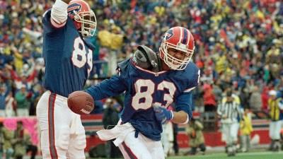 AFC Wild Card Oilers Bills 1993