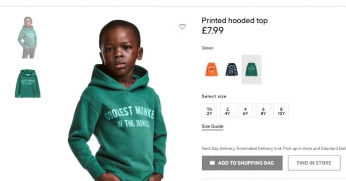 3d4034ffc Before you clap back at H&M ad boy's mother, understand that context matters