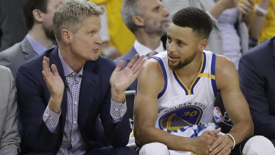 Steve Kerr,Stephen Curry