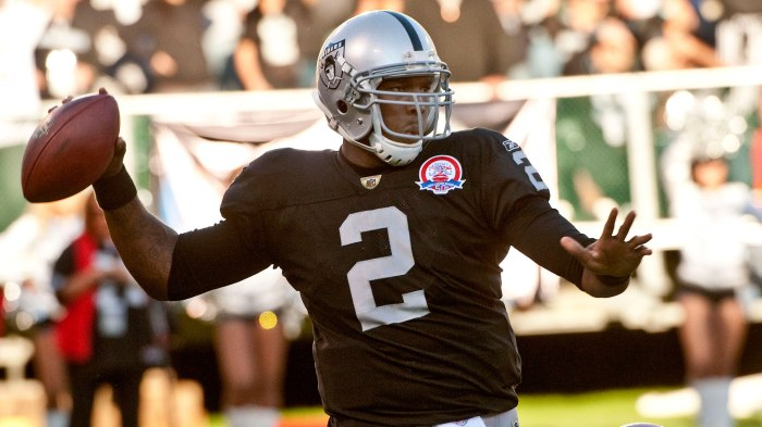 huge selection of 04a04 ce6ba JaMarcus Russell went from top overall pick to NFL bust in a hurry